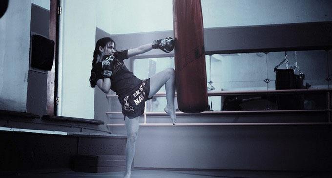 女子格闘家