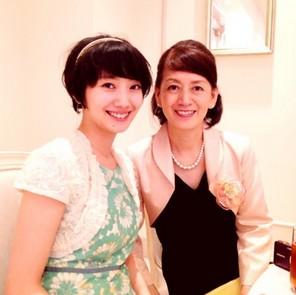 波瑠と母親